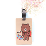 Wholesale Custom Plastic Soft PVC Luggage Tag, Airplane Luggage Tag as Promotional Gifts