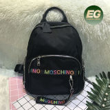 Trvalling School Bags Woman Nylon Backpack with Wholesale Price Bk01