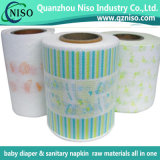 Partial Laminating Backsheet Film for Baby/Adult Diapers New Style