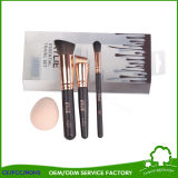 Wholesale Beauty Supply Distributor Kylie White Makeup Brushes 5PCS with Bag