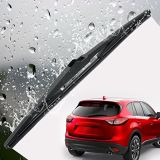 Universal Car Windshield Wiper Blade with Soft Silicone Rubber Strip Refill in All Size Include 2 Adapters