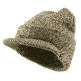 Custom Man Hats Leisure Gray Promotion Sports Knitted Winter Cap