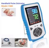 Child SpO2 Sensor Handheld Pulse Oximeter Temperature Probe Alarm Meter, Pr, 2.8 LCD Pulse Blood Oximetro, Ce Approval