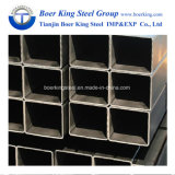 Rectangular / Square Steel Pipe / Tubes Hollow Section Galvanzied / Black Annealing