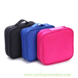 Waterproof Canvas Makeup Wash Cosmetic Bag with Hangle
