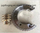 Forged SAE1045 F5 Spur Drive Shaft Gear