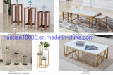 Wholesale Cheap Handmade Gold Stainless Steel Flower Vase for Home Wedding Banquet Decoration
