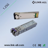 30dB 120km 1.25GB/S DWDM SFP Fiber Optic Transceiver Module