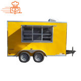 New Fashion Wholesale Vintage Van Catering Kitchen Outdoor Street Electric Catering Mobile Food Truck for Snack/Coffee/Ice Cream/Hot Dog/Pizza/BBQ