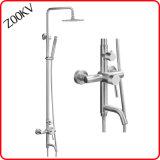 304 Stainless Steel Bath Fittings Accessories Rain Rainfall Hand Head Faucet Set Column Panel Shower Panel Bathroom Set
