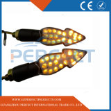 Flowing Motorcycle Motorbike LED Turn Signal Indicator Light Flicker Water