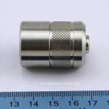 Customized Stainless Steel Plug Protective Cap Knurl CNC Machining Part