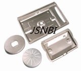 Metal Stamping Cover Part with Sand Blasting Finish Treatment