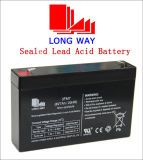 6volt 7ah Rechargeable Toy Cars Lead Acid UPS Battery