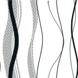Modern Style PVC Vinyl Wallpapers Non Woven Vinyl Wallcovering