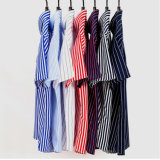 Customize Stripe Short Sleeve Dress Shirt for Men