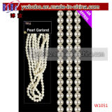 Pearl Bead Chain Garland Christmas Wedding Party Decoration Gift (W1051)