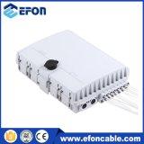 Hot Sale 16 Core Plastic FTTH Outdoor Fiber Optic Terminal Box