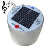 New Arrival Inflatable Solar LED Lamp Solar Lantern with Waterproof Bluetooth Speaker