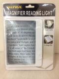 Ultra Slim & Lightweight Book Light LED Page Magnifier-Large