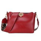 Fashion Style High Quality Cheap PU Shoulder Crossbody Messenger Promotion Lady Shopping Bag