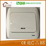 2016 New Design European Standard Light Switch
