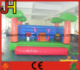 Forest Theme Inflatable Mini Bouncer with Slide for Kids