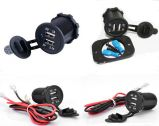 2015 New DC12-24V Dual USB Charger Power Socket Waterproof DC2013