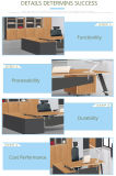 New Design Office Staff Computer Table, Wooden L-Shape Office Working Desk