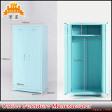 Bas-141 Home Hotel Furniture Steel Two Door Clothes Cupboard
