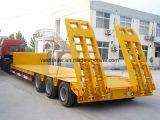 Best Price 3 Axle 80 Ton Low Bed Truck Semi Trailer