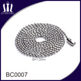 Wholesale Metal Stainless Steel Jewelry Ball Bead Chain