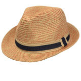 Custom Fashion Man Hat Summer Paper Straw Cap
