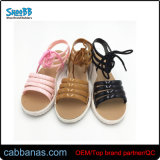 Strap Casual Soft Jelly Flat Walking Outdoor Beach Slippers for Womens Ladies