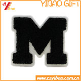 Hot Selling Good Quality Letter M Chenille Embroidery Patch