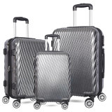 Hot Sale 3 Piece Set ABS/PC Trolley Travel Hard Shell Luggage