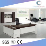 Fashion Office Furniture 50mm Thinckness Executive L Shape Manager Table (CAS-MD1868)