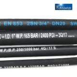 China Professional Hose Manufacturer Hydraulic Hose Pipe Price List DIN En853 2sn