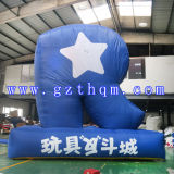 Square Logo Advertising Inflatable Model
