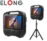 Karaoke Speaker with 14inch LCD Panel and FM bluetooth