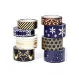 3 Inch Extra Wide Cheap Painters Black Blue Painters Decorative Masking Tape
