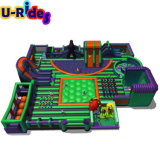 High quality Giant inflatable indoor parks amusement park Customized inflatable theme park