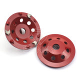 PCD Arrow Segment Diamond Grinding Cup Wheel for Concrete