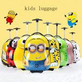 2PCS Kids Travel Trolley Luggage Bag Cartoon Suitcase