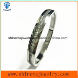 Shineme Jewelry High Quality Stainless Steel Bangle with Stone