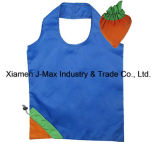 Foldable Shopper Bag, Fruits Carrot Style, Reusable, Lightweight, Grocery Bags and Handy, Gifts, Promotion, Accessories & Decoration