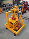 Qtm4-40 Diesel Moving Block Machine Manual Brick Making Machine Cheap Cement Brick Making Machine