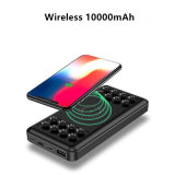 Newest Cell Phone Wireless Power Bank Charger for iPhone/Samsung/Huawei