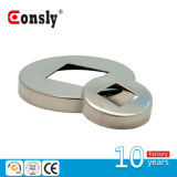 Stainless Steel Railing Flange Cover with Square Shape Holllow