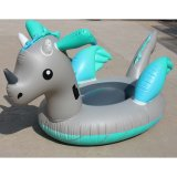 Unicorn Pegaus Inflatable Swimming Ring Floating Dragon Pool Lounge Floats